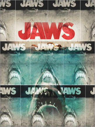 Gallery print  Jaws collage