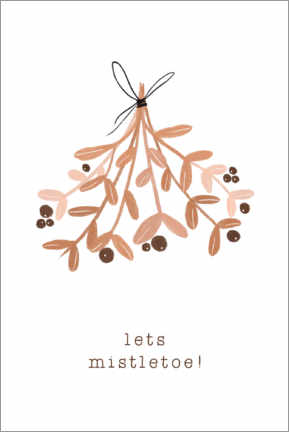 Wall sticker Lets Mistletoe