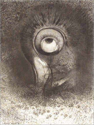 Canvas print  Vision in bloom - Odilon Redon