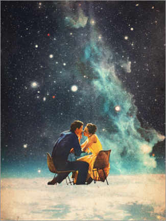 Acrylic print  I'll Take you to the Stars for a second Date - Frank Moth