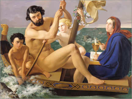Acrylic print  Masculinity, the four ages of man - Detlev Blunck