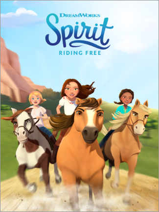Canvas print  Spirit Riding Free