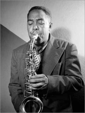 Premium poster  Charlie Parker - William P. Gottlieb/LOC