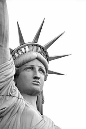 Canvas print  Statue of Liberty, Las Vegas - Dennis Flaherty