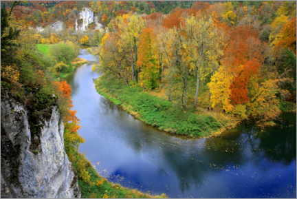Premium poster Autumn in the Danube Valley