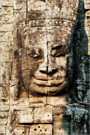 Premium poster Ruins at the Temples of Angkor Wat in Cambodia