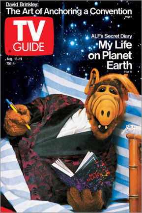 Premium poster  ALF - My Life on Planet Earth - TV Guide
