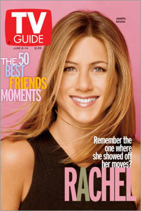 Foam board print  Rachel - Friends - TV Guide