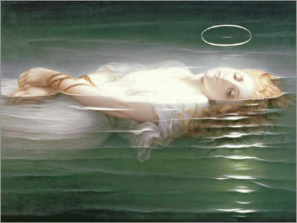Wood print  The Young Martyr - Hippolyte Delaroche