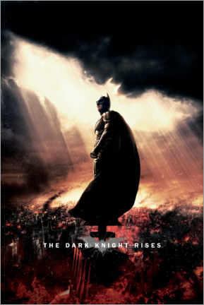 Acrylic print  The Dark Knight Rises - Sunbeams