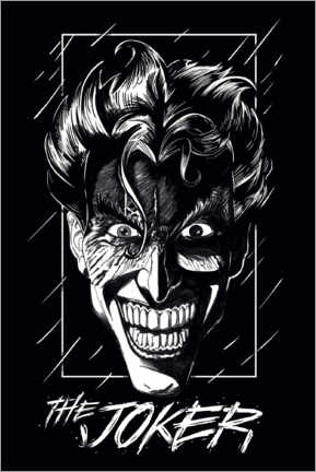 Premium poster  The Joker - Smile