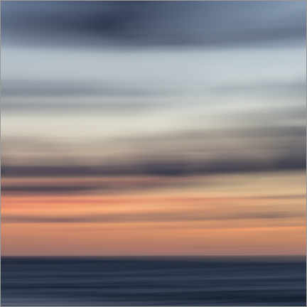 Premium poster Play of colors by the sea I