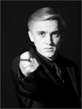 Premium poster  The Half-Blood Prince - Draco Malfoy wand portrait