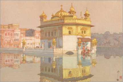 Premium poster Golden Temple in Amritsar