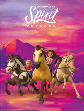 Premium poster  Spirit Untamed - Girls