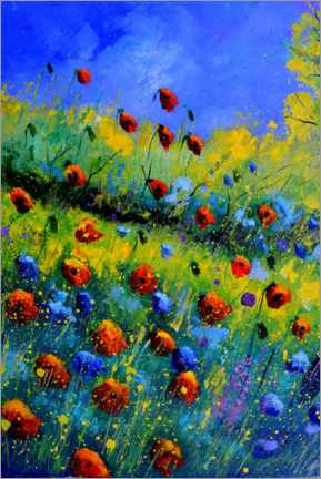 Gallery print  Poppies and poppies - Pol Ledent