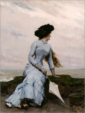 Acrylic print  Look out to sea - Charles Hermans