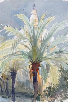 Premium poster  Old City Palms I, Jerusalem - Lucy Willis