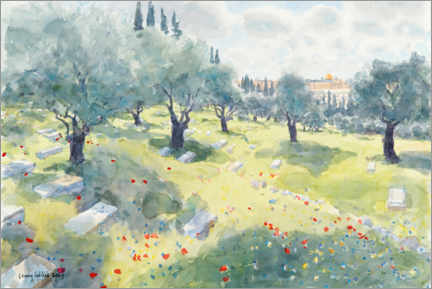 Premium poster  The olive grove - Lucy Willis