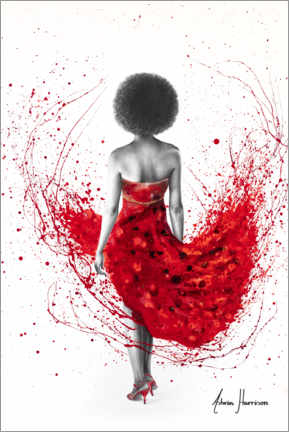 Gallery print  Scarlet Power - Ashvin Harrison