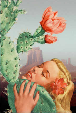 Canvas print  In Love With A Prick - Jonas Loose