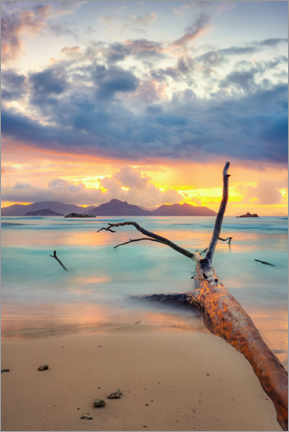 Premium poster Colors of the Seychelles