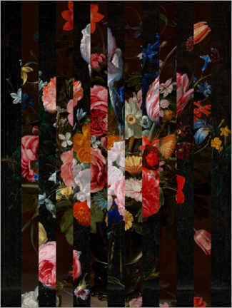 Acrylic print  Shifted Flemish Bouquet I - Jacob Green