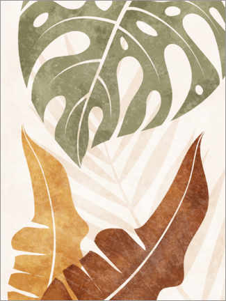 Gallery print  Tropical plant leaves - TAlex