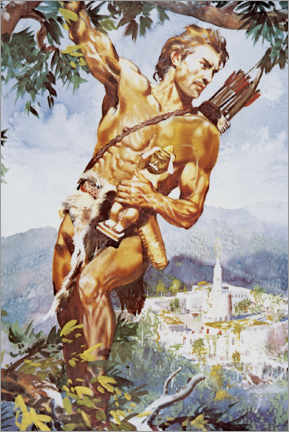 Premium poster  Tarzan and the Jewels of Opar