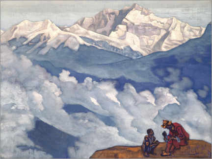 Premium poster  Pearl of Searching - Nicholas Roerich