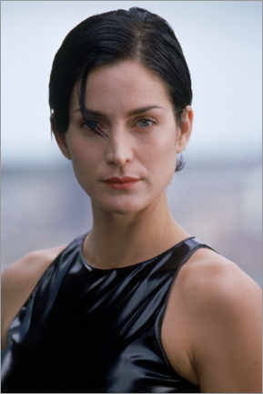 Premium poster  The Matrix - Carrie-Ann Moss is Trinity
