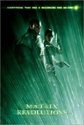 Premium poster  The Matrix Revolutions - Beginning and End