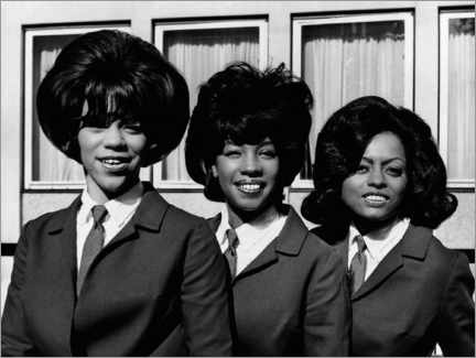 Wall sticker  The Supremes - London, 1964