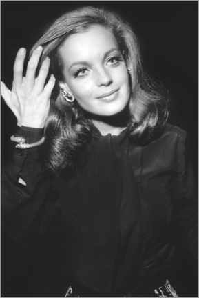 Premium poster  Romy Schneider, at Premiere of The Assassination of Trotsky, 1970