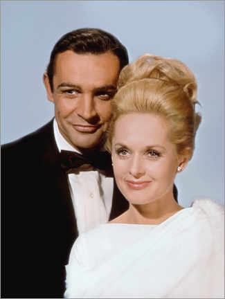 Premium poster  Sean Connery and Tippi Hedren, Marnie, 1964