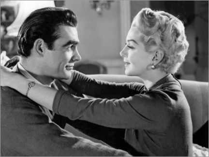 Premium poster  Sean Connery And Lana Turner, Another Time, Another Place 1958