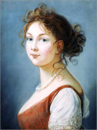 Wall sticker  Louise, Queen of Prussia - Elisabeth Louise Vigee-Lebrun