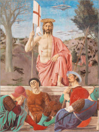 Premium poster  Resurrection of Christ - Piero della Francesca
