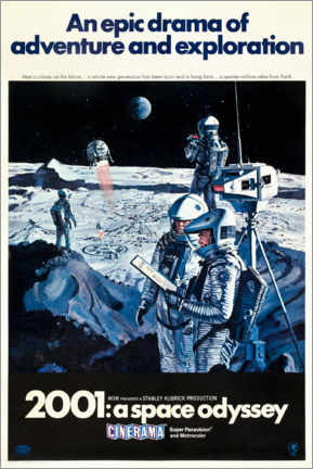 Premium poster 2001: A Space Odyssey 1968