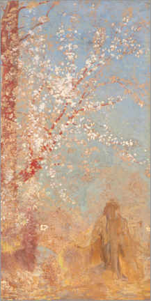 Premium poster  Tree in bloom - Odilon Redon