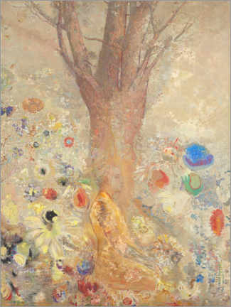 Canvas print  The Buddha - Odilon Redon