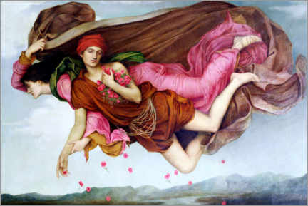 Canvas print  Night and sleep - Evelyn De Morgan