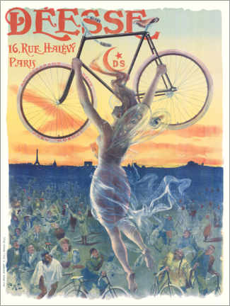 Canvas print  Deesse bicycles - Jean de Paleologue