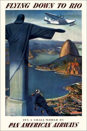 Premium poster  Flying down to Rio - Travel Collection
