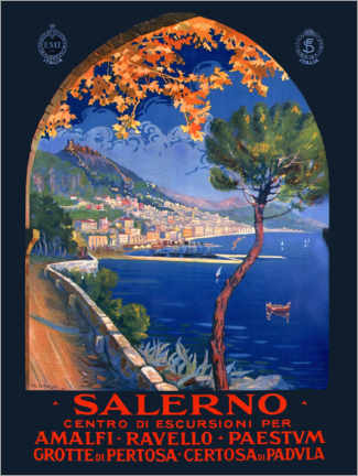 Wall sticker  Italy - Salerno - Travel Collection