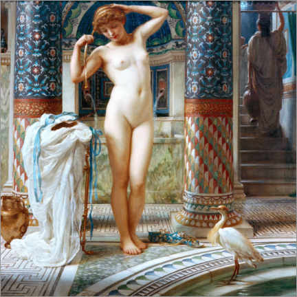 Canvas print  Diadumene - Sir Edward John Poynter