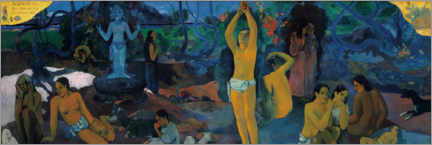 Canvas print  Where do we come from - Paul Gauguin