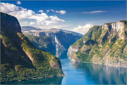 Canvas print  Sognefjord - The King of the Fjords - Sascha Kilmer