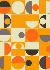 Wall Sticker  Panton orange - Mandy Reinmuth