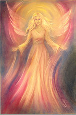 Gallery print  Angel of light and love - Marita Zacharias